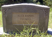 Alice Raines Thomas
